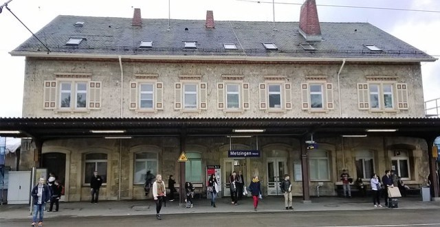 metzingen train station