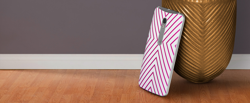 Moto X Pure Edition, Jonathan Adler designs, phone, Bridget Stripe