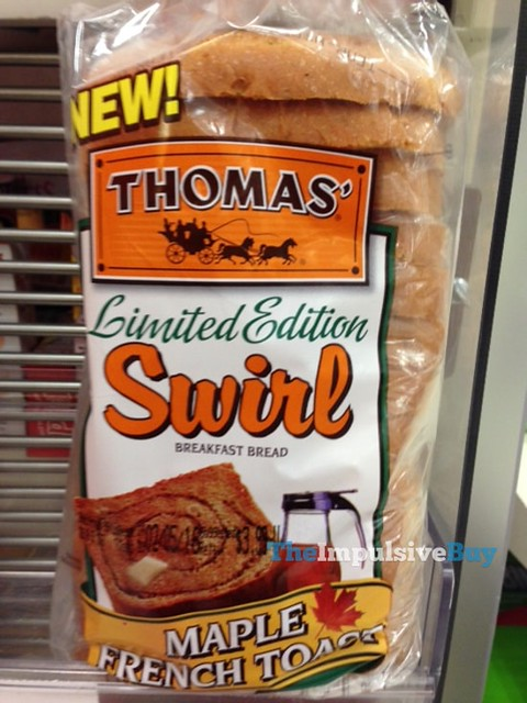 Thomas' Limited Edition Maple French Toast Swirl Bread