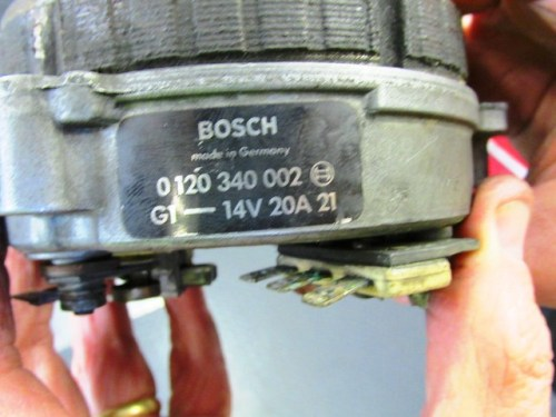Original Bosch Alternator