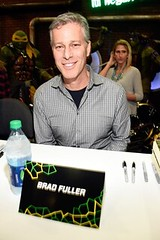 attends a autograph signing at Wonder Con to promote the upcoming release of Paramount Pictures' Teenage Mutant Ninja Turtles  Out of The Shadows, on March 25, 2016 at the LA Convention Center in Los Angeles, California.