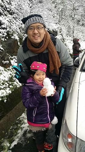 2016-01-26_首次賞雪就在台灣汐止五指山