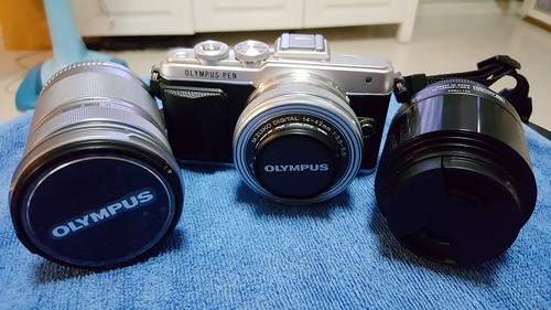 Mirrorless ของ Olympus กับเลนส์