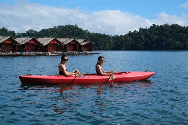 Kayaking. Khao SOk