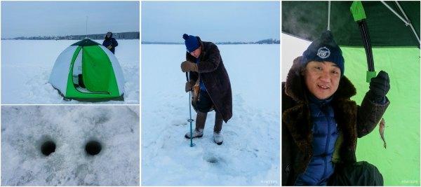 Ice Fishing, Yekaterinburg