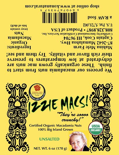 RECALLED – Macadamia Nuts and Nut butter