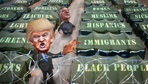 Donald Trump's Big Tent Party