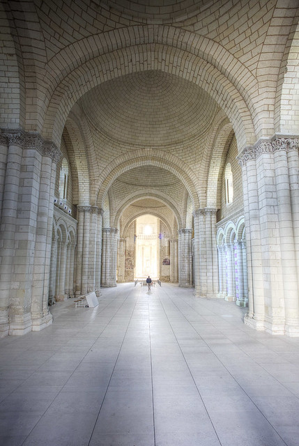 Inside the Royal Abbey.