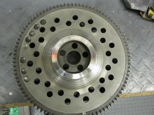 Flywheel Cleaned