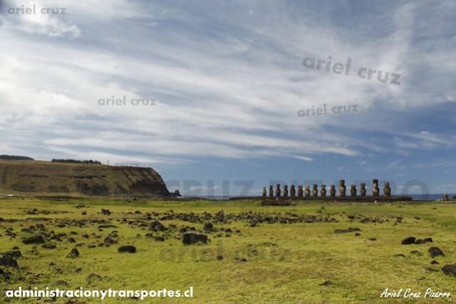 Ahu Tongariki (Moai) - Isla de Pascua