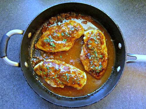 Honey Mustard Chicken Skillet