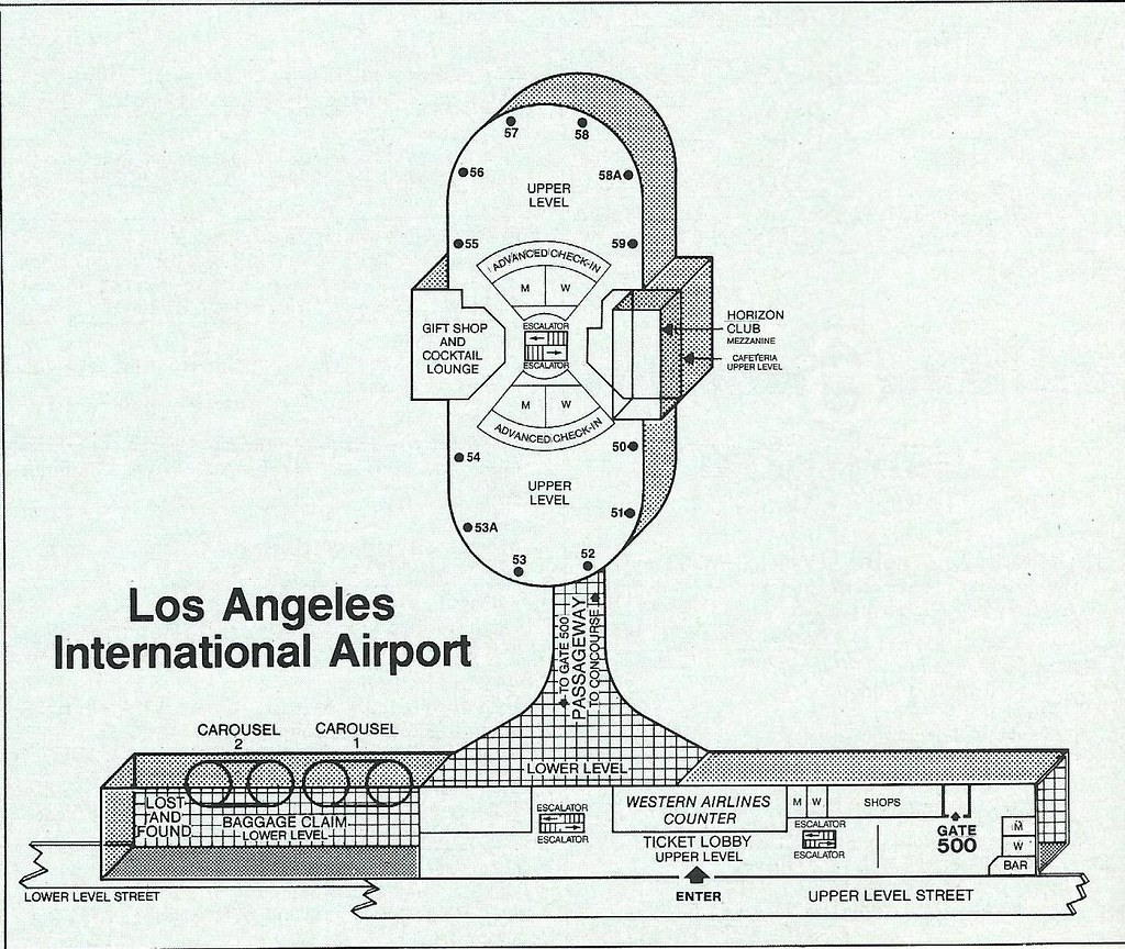 Seattle Airport Delta Terminal Diagram