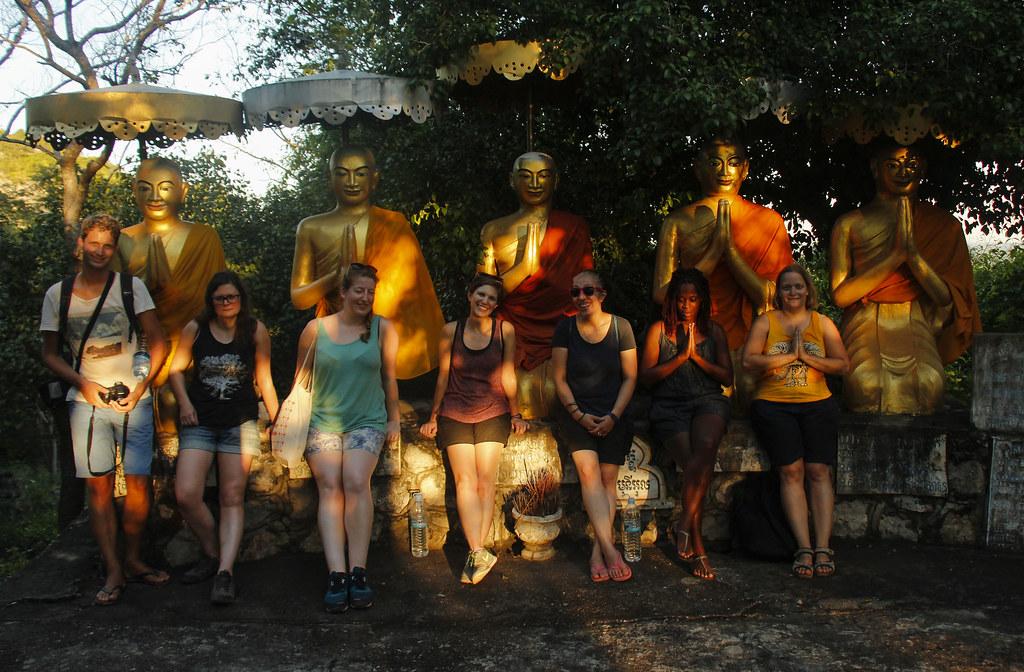 Templer, grotter og flagermus i Battambang