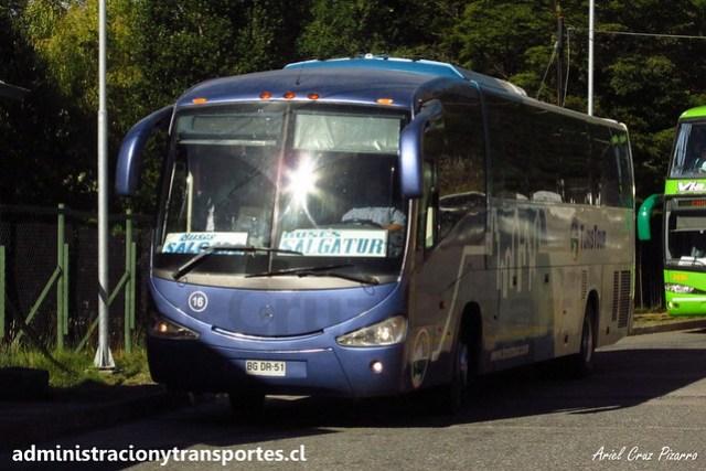 Turistour (Buses Salgatur) - Aduana Chilena - Irizar Century / Mercedes Benz (BGDR51)