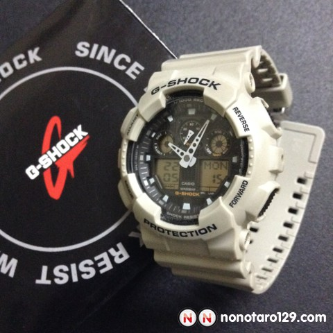Casio GSHOCK Military Sand_01