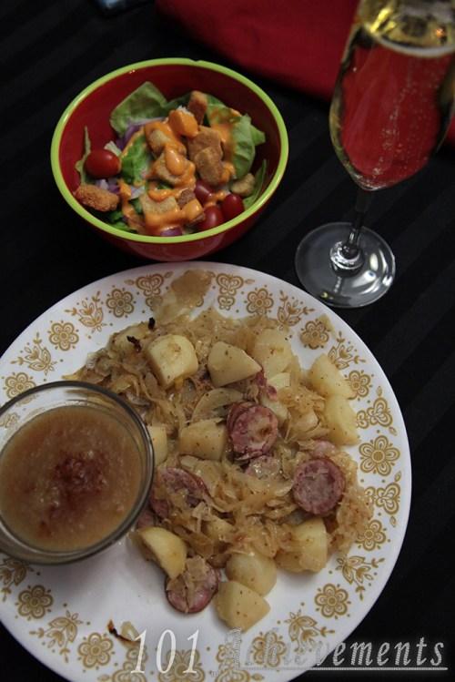 CSA Meals - W/E Jan 09 16