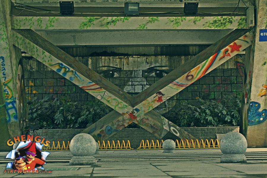 Graffiti in China