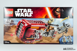 REVIEW LEGO Star Wars 75099 Rey's Speeder 01 - HelloBricks