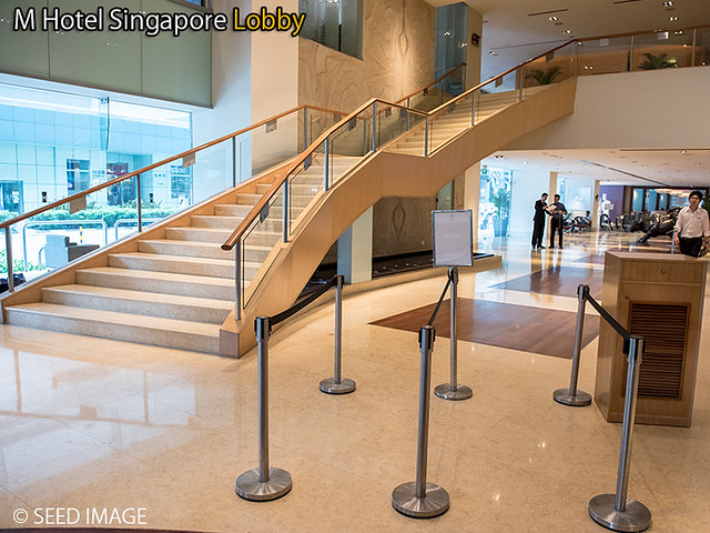 M Hotel Singapore Lobby