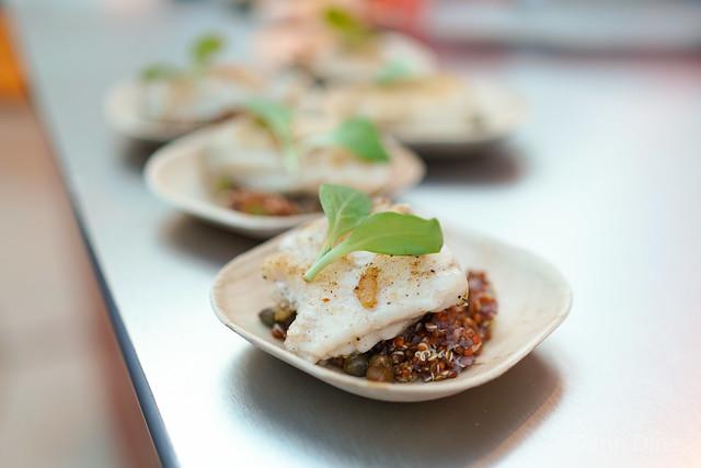 RM Seafood pan roasted skate wing