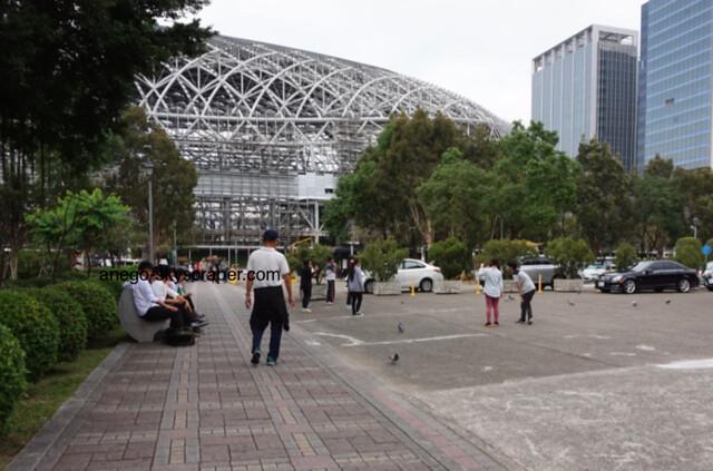 国父記念館から台北ドーム