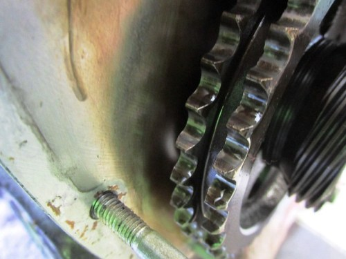 Camshaft Sprocket Teeth Show No Visible Wear