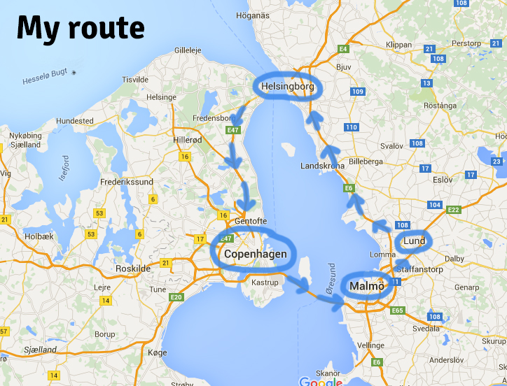 orseund route