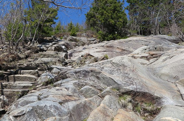 White Cross Trail Rocks 2