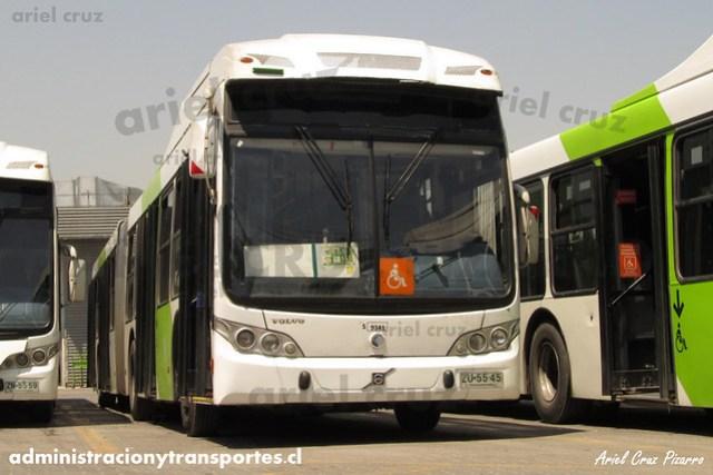 Transantiago - Subus Chile - Caio Mondego LA / Volvo (ZU5545) (9341)
