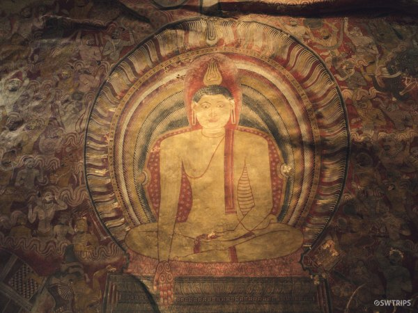Ceiling Arts at Golden Temple of Dambulla - Dambulla, Sri Lanka.jpg