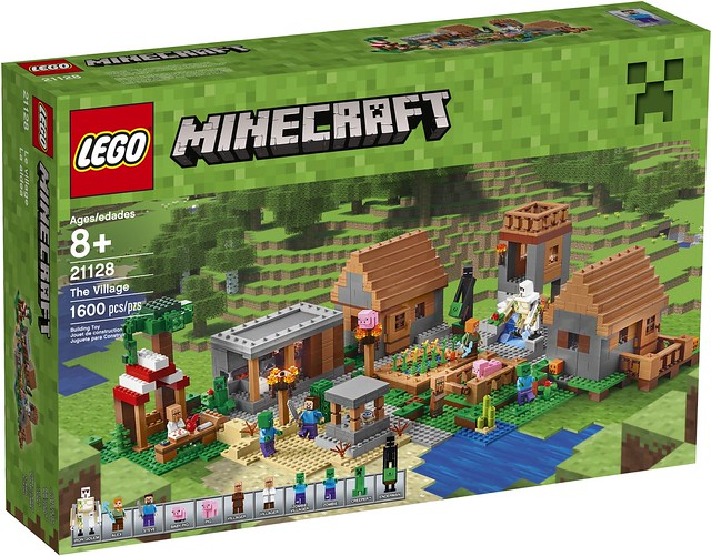 LEGO Minecraft 21128 The Village 01
