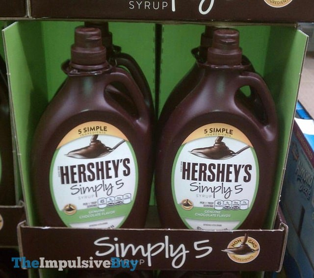 Hershey's Simply 5 Syrup