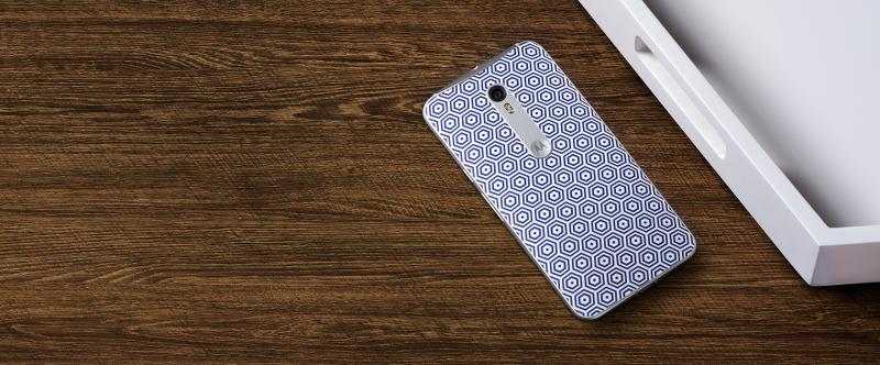 Moto X Pure Edition, Jonathan Adler designs, phone, honeycomb
