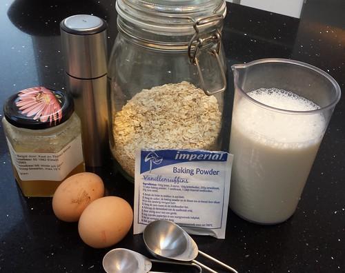 ingredienten havermoutpannenkoeken