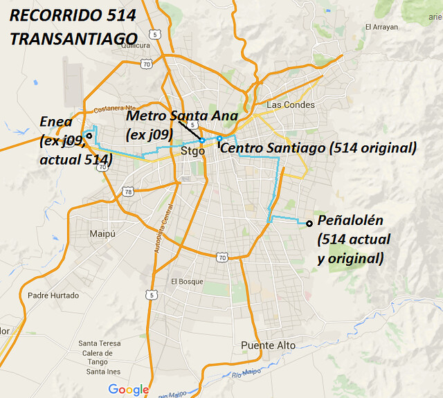514 TRANSANTIAGO