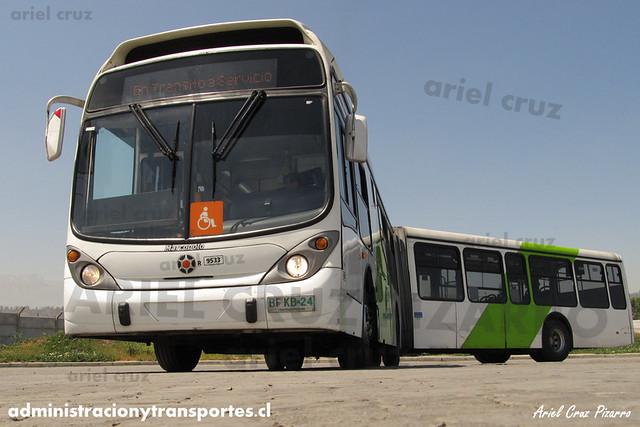 Transantiago - Subus - Marcopolo Gran Viale / Volvo (BFKB24) (9533)