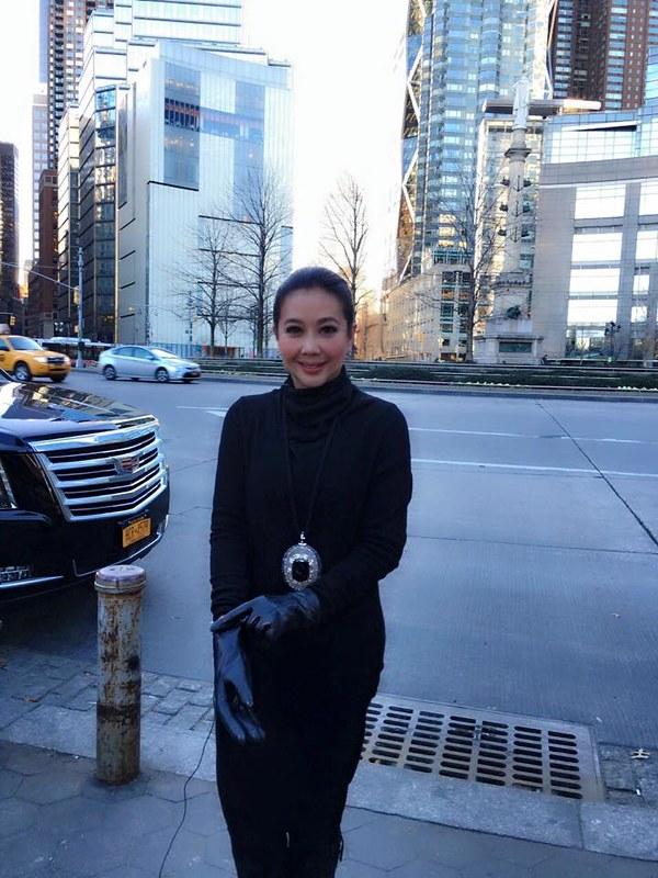 Korina Sanchez in New York