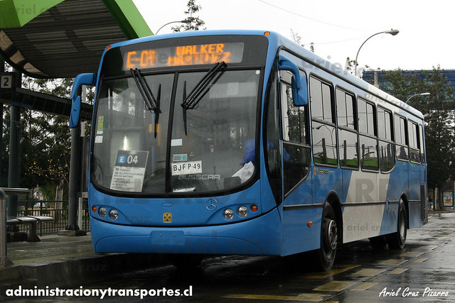 Transantiago - Unitran - Busscar Urbanuss Pluss / Mercedes Benz (BJFP49)