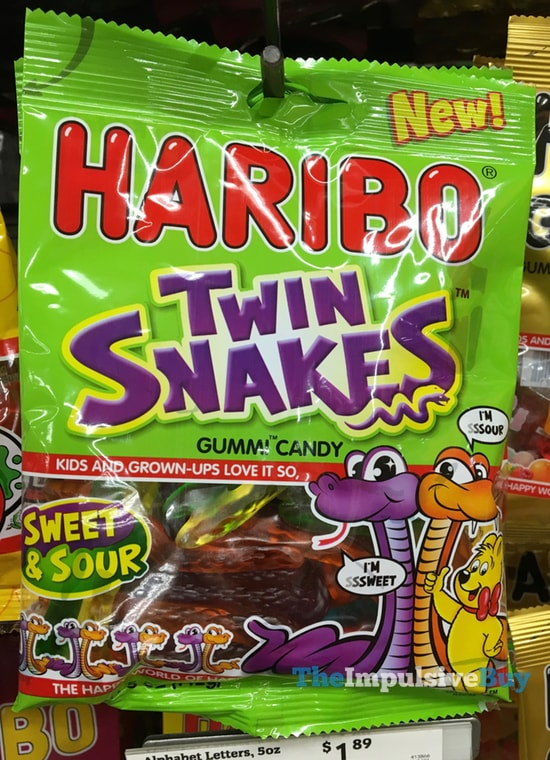 Haribo Twin Snakes Gummi Candy