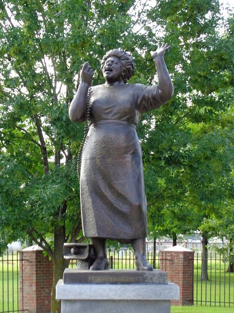 Fannie Lou Hamer Memorial Garden, Ruleville MS