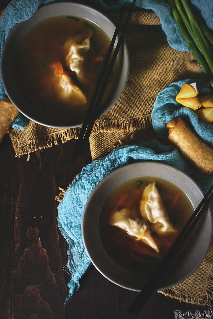 Homemade Dumpling Soup {Girl Carnivore}