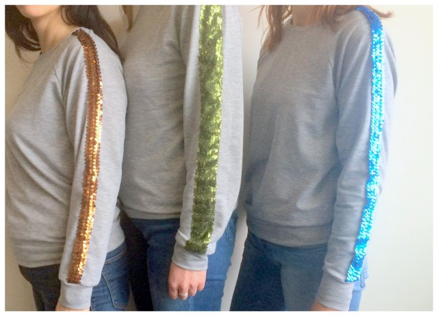 glitter sweaters