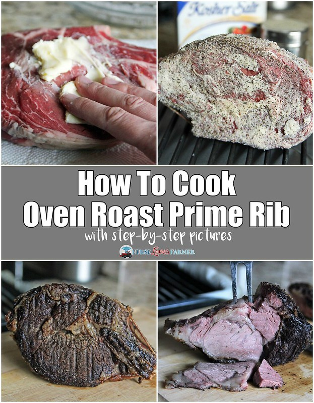 The perfect oven roast prime rib! Butter-rubbed meat, seared to ...