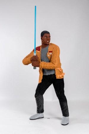 LEGO Star Wars Life Size Sculpture Finn