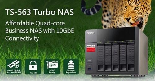 QNAP TS-563 Turbo NAS