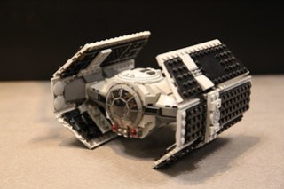 LEGO Star Wars 75150 Darth Vader's TIE Advanced and A-wing Fighter 6