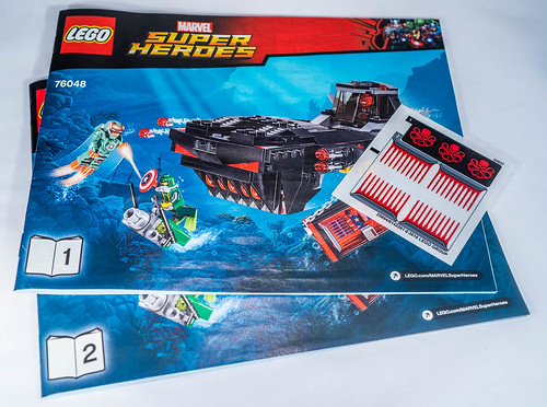 REVIEW LEGO 76048 Marvel - L'attaque en sous-marin d'Iron Skull