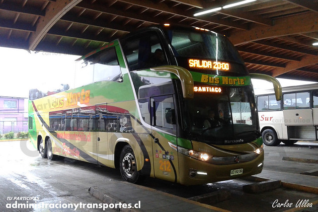 Bus Norte - Puerto Montt - Marcopolo Paradiso 1800 DD / Volvo (GDVG30) (212)