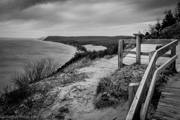 Empire Bluffs B&W
