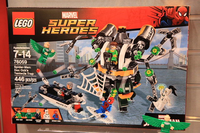 LEGO Marvel 2016 76058 Doc Ock's Tentacle Trap 1